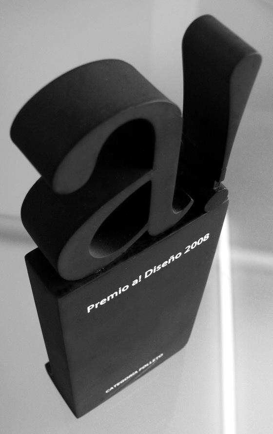Premio a! Diseño 2008 para H. Creativos